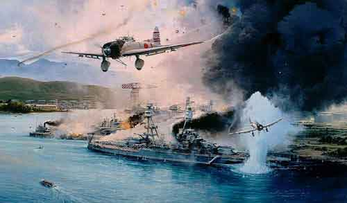 pearl harbor before the attack in color