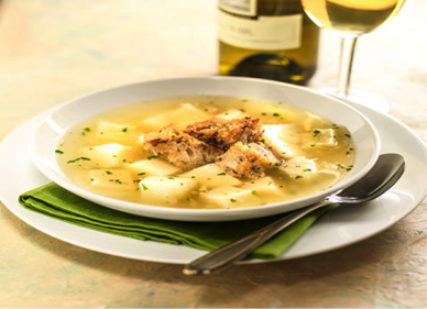 garlic soup-031715